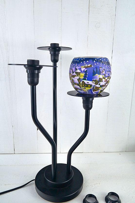 Leuchtständer Zusammenbau1