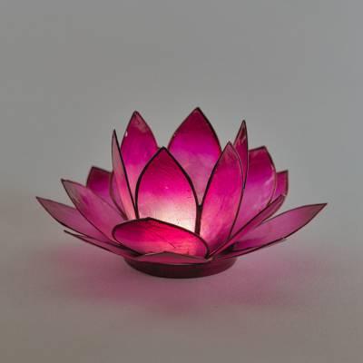 Lotosblüte Lotoslicht Nr.6 lila, Spiritualität - 1
