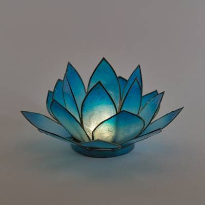 Lotosblüte Lotoslicht Nr.7 blau, Erholung - 1